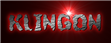 Font A Ticket Klingon Logo Preview