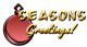 Font AnuDaw Seasons Greetings Logo Preview