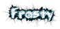 Font Belligerent Madness Frosty Logo Preview