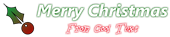Font Bergamo Std Christmas Symbol Logo Preview