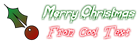 Font Blood Christmas Symbol Logo Preview