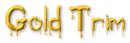 Font Blood Gold Trim Logo Preview