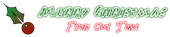 Font Burnstown Dam Christmas Symbol Logo Preview