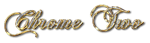 Font Chopin Script Chrome Two Logo Preview