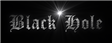Font Cloister Black Black Hole Logo Preview