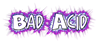 Font Comics Cartoon Bad Acid Logo Preview