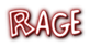 Font Comics Cartoon Rage Logo Preview