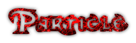 Font Dark Crystal Outline Particle Logo Preview