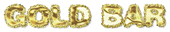 Font Dephunked Gold Bar Logo Preview