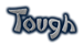 Font DomoAregato Tough Logo Preview