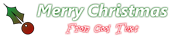 Font Farsi Simple Christmas Symbol Logo Preview