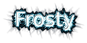 Font Farsi Simple Frosty Logo Preview