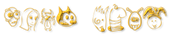 Font Fred Gold Trim Logo Preview