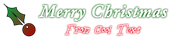 Font Garamond Christmas Symbol Logo Preview