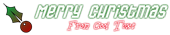 Font Gas Christmas Symbol Logo Preview
