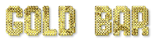 Font Gas Gold Bar Logo Preview