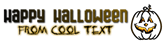 Font Gas Halloween Symbol Logo Preview
