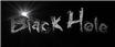 Font Grunge Black Hole Logo Preview