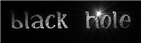 Font Initial Black Hole Logo Preview