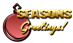 Font Invisible Killer Seasons Greetings Logo Preview