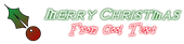 Font Iron League Christmas Symbol Logo Preview