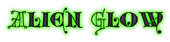 Font Kingthings Versalis Alien Glow Logo Preview