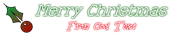 Font Kingthings Xstitch Christmas Symbol Logo Preview