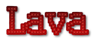 Font Kingthings Xstitch Lava Logo Preview