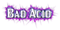 Font Kirsty Bad Acid Logo Preview