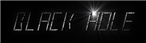 Font LED Real Black Hole Logo Preview