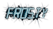 Font LED Real Frosty Logo Preview