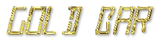 Font LED Real Gold Bar Logo Preview