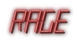 Font LED Real Rage Logo Preview