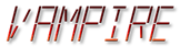 Font LED Real Vampire Logo Preview