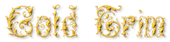 Font Leafy Glade Gold Trim Logo Preview