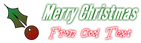 Font League Gothic Christmas Symbol Logo Preview