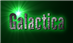 Font League Gothic Galactica Logo Preview