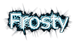 Font Legendum Frosty Logo Preview