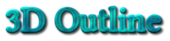 Font Linux Libertine 3D Outline Textured Logo Preview