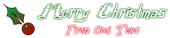 Font Lizzard Christmas Symbol Logo Preview