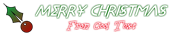 Font Metrolox Christmas Symbol Logo Preview