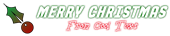 Font Not So Slim Jim Christmas Symbol Logo Preview