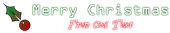 Font OCR A Extended Christmas Symbol Logo Preview
