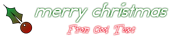 Font Odd Dog Christmas Symbol Logo Preview