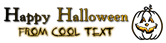 Font Powell Antique Halloween Symbol Logo Preview