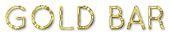 Font Quicksand Gold Bar Logo Preview