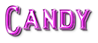 Font README Candy Logo Preview