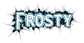 Font README Frosty Logo Preview