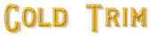 Font README Gold Trim Logo Preview