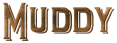 Font README Muddy Logo Preview